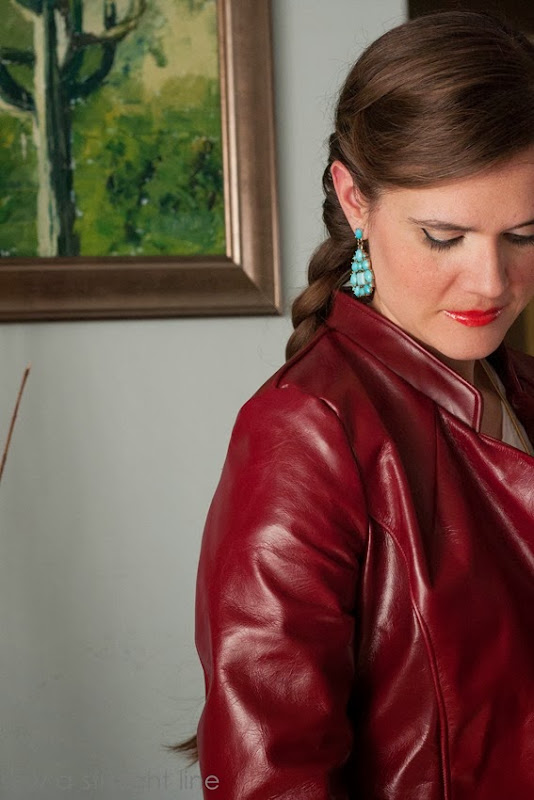 Leather Lessons Sew a Straight Line-13