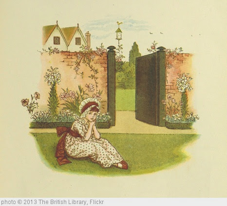 'Image taken from page 43 of 'Little Ann, and other poems. ... Illustrated by Kate Greenaway, etc'' photo (c) 2013, The British Library - license: http://www.flickr.com/commons/usage/