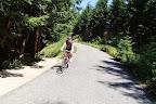 Asfaltowy trawerz - jedyny fragment asfaltu na dzisiejszej wycieczce