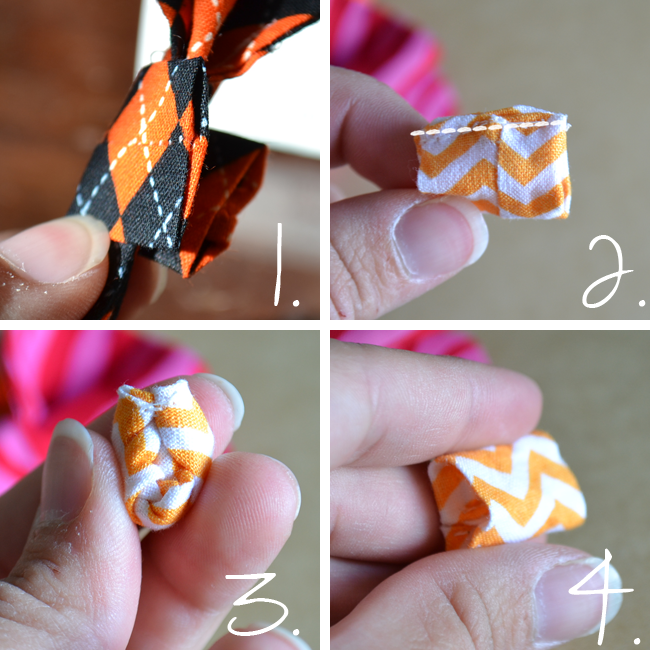 Fabric Bow Sewing Instructions