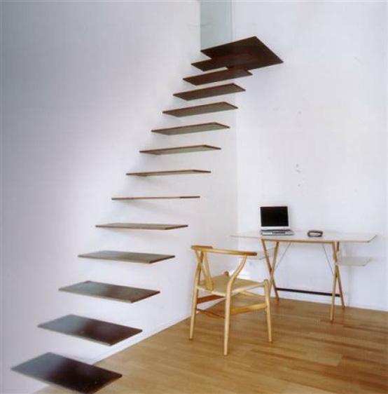 Check out these amazing Floating Staircases