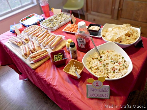 adult birthday party food ideas