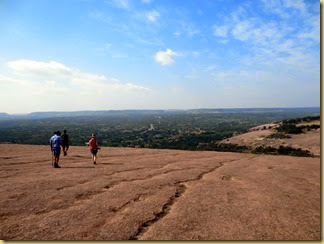 2014-04-27 -1- TX, Enchanted Rock - Hike with Cassie and Logan -036