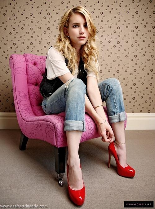 Emma Roberts linda sensual sexy sedutora desbaratinando (11)