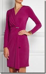 Michael Michael Kors Wrap Effect Jersey Dress