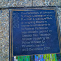 Centenary of Women's Suffrage Commemorative Fountain 6.jpg