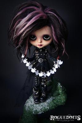 Edward Scissorhands Blythe by Picara Roguedolls 3