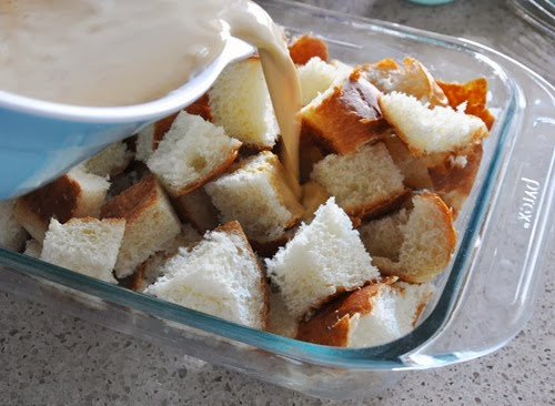 pumpkin brioche bread pudding 043