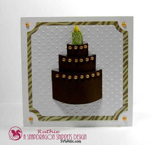 Feliz cumpleaños - SnapDragon Snippets - Ruthie Lopez