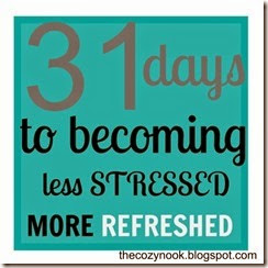 31 days Less Stressed, More Refreshed 500