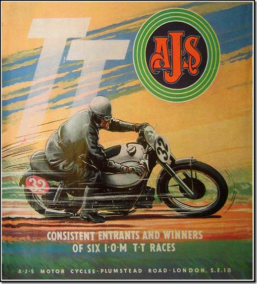 Ajs 1950 TT Success