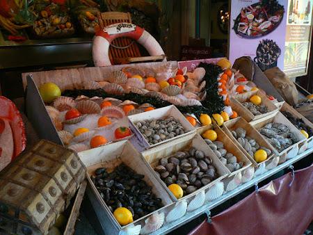 Fructe de mare Bruxelles Belgia