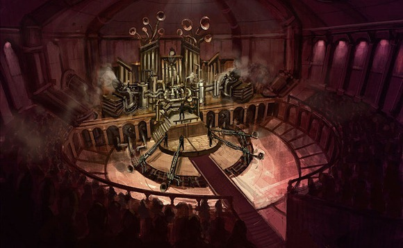 Steampunk_concerthall_by_DrawingNightmare
