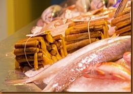 seville, razor clams