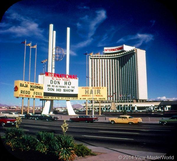 View-Master Las Vegas Nevada A159 Scene 2-4