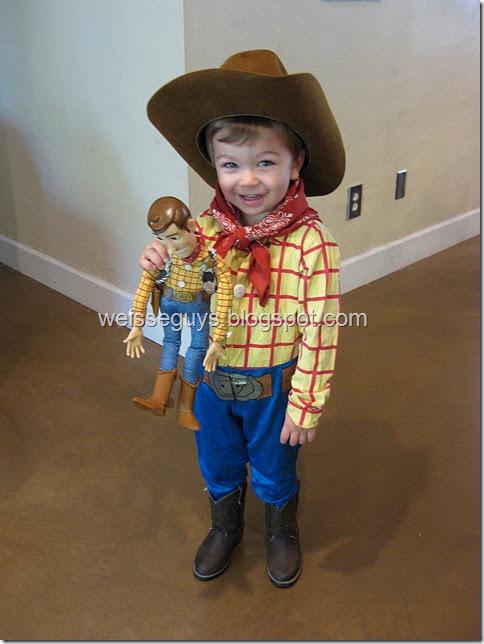 disfraz de Woody de toi story