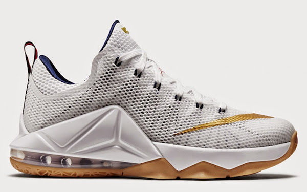 Nike LeBron 12 Low 8220USA8221 Official Look amp Release Date