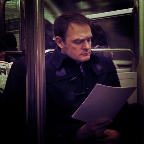 Inconnu dans le metro