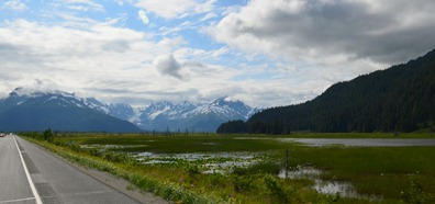 approaching Portage on the Seward Highway
