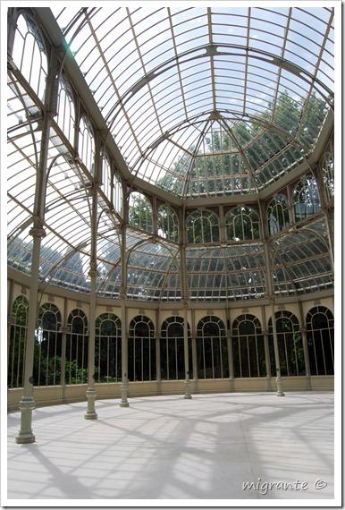 palacio de cristal - parque del retiro - madrid - diáfano