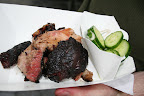 Beef Brisket with Pickles from NYC's Hill Country