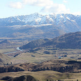 View From The Crown Range - Enroute to Queenstown, New Zealand
