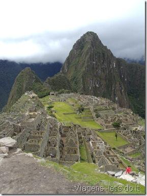 Santuário de Machu Picchu com vista para o Huaynapicchu