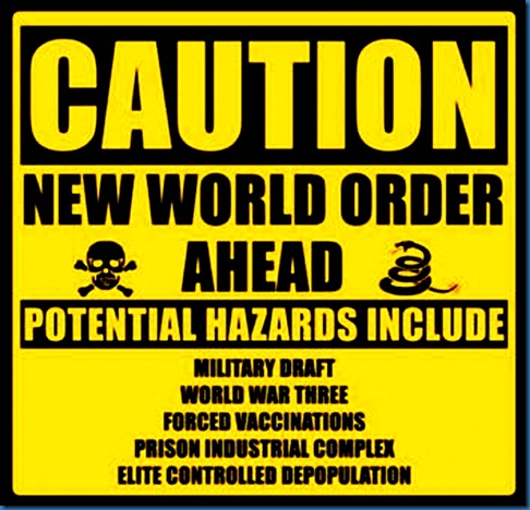 NWO Caution Sign