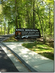 4-25 16 Kings Mountain