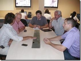 Juan Pablo de Jesús se reunió con el Director Provincial de Sistemas de Información y Tecnología