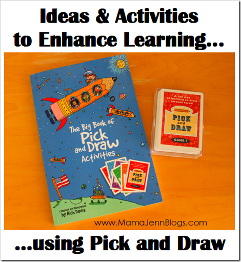 The Big Book of Pick and Draw Activities {Review}
