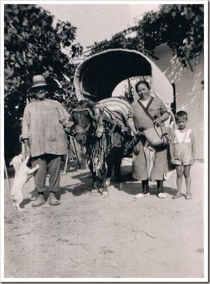 1935 grupo en la huerta