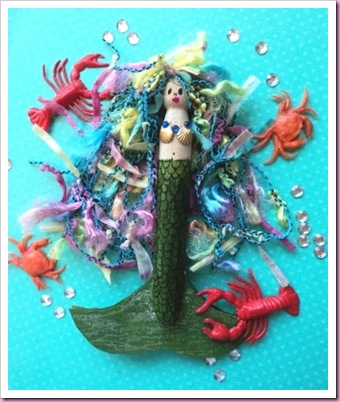 Peg mermaid 1