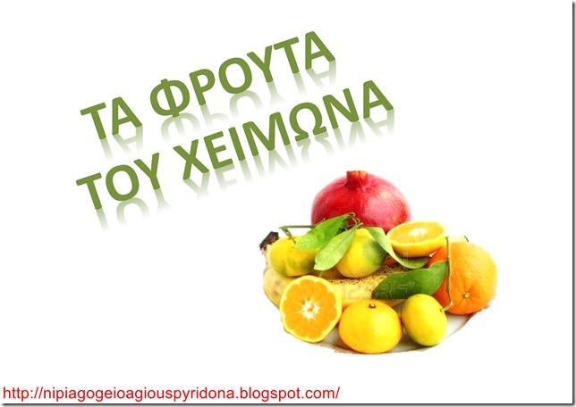 Τα φρούτα του χειμώνα-1