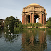 Palace of Fine Arts in San Fran