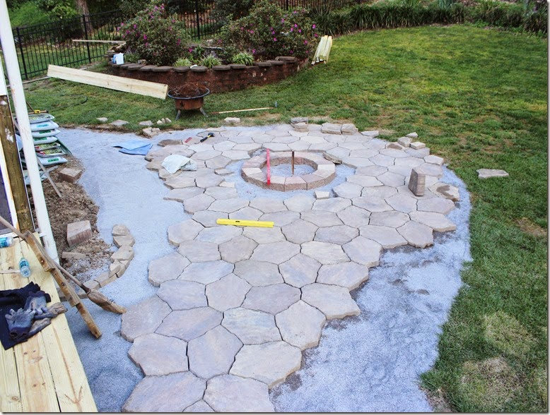 Portage Stone Patio and Fire Pit
