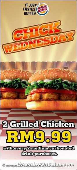 Burger-King-Chick-Wednesday-2011-EverydayOnSales-Warehouse-Sale-Promotion-Deal-Discount