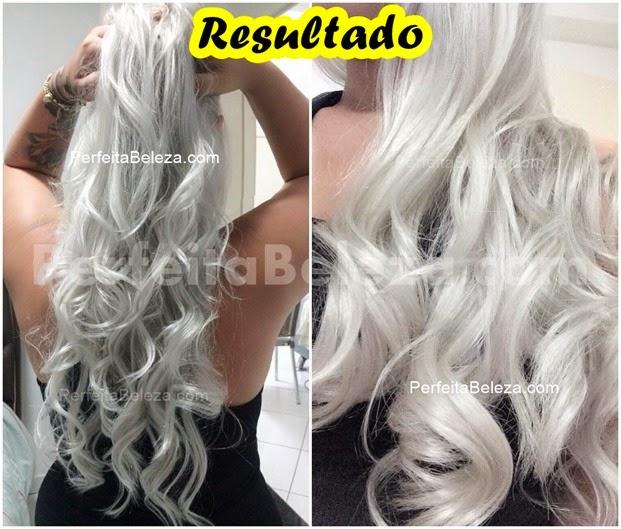 cabelo loiro branco platinado