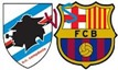 barca vs sampdoria