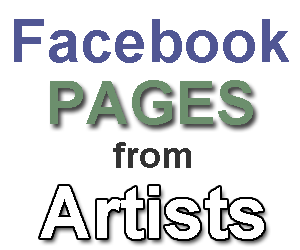 facebook pages from artists