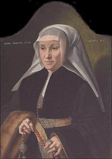 Barthel Bruyn, Femme au pomander