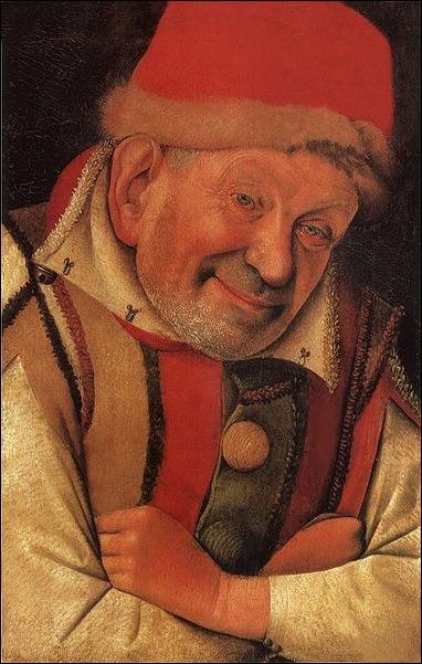 Fouquet, Le portrait de bouffon Gonella 1445