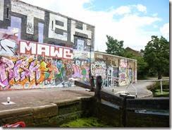 2 graffiti wall hertford union bottom lock