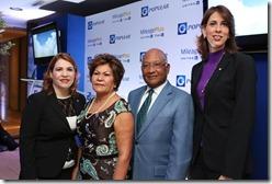 Claudia Zuluaga, Milena de Lorenzo, Amadeo Lorenzo, Laura Mayén