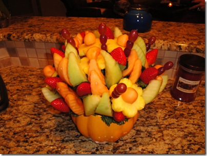 9.  Edible Arrangement from Mark and Lynn Wines
