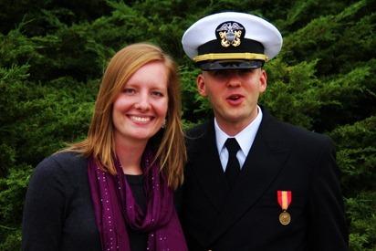 Mark Navy OCS Grad 24
