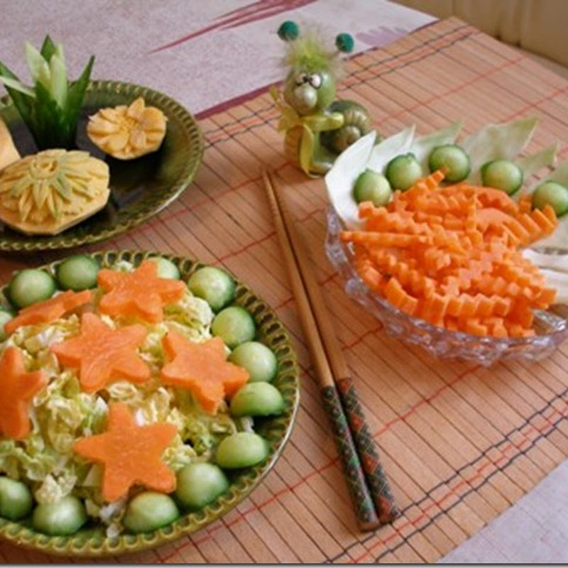 Tips: Vegetable Carving for Everyday