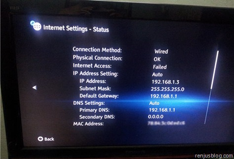 dlna-ip-address-tv