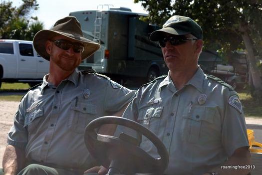 Rangers Brian & Dave