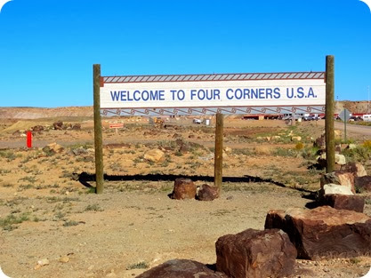 four corners sign